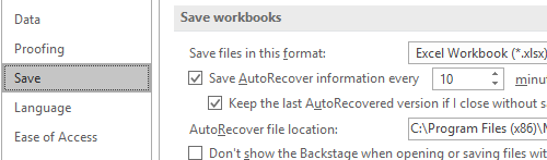 How to Turn Off Auto Save in Microsoft Excel