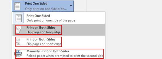 How to Print Double-Sided in Microsoft Word