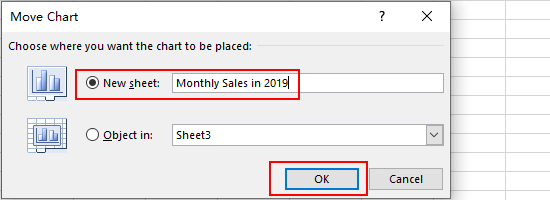 How to Move a Chart in Microsoft Excel