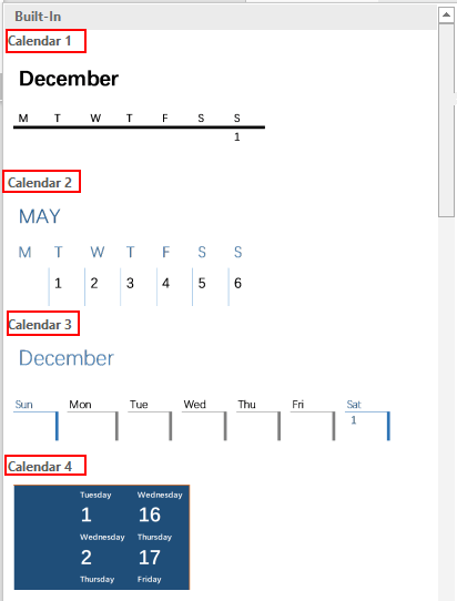 How to Insert a Calendar in Microsoft Word