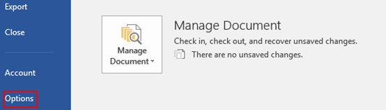 How to Turn Off Start Screen When Application Starts in Microsoft Word