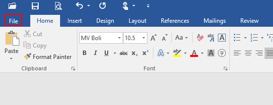 How to Create a Custom Ribbon in Microsoft Word