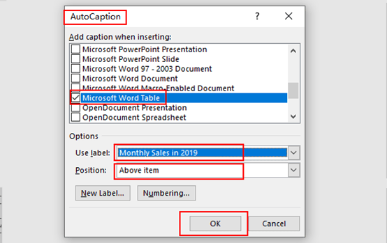 Add Automatic Captions with AutoCaption in Microsoft Word