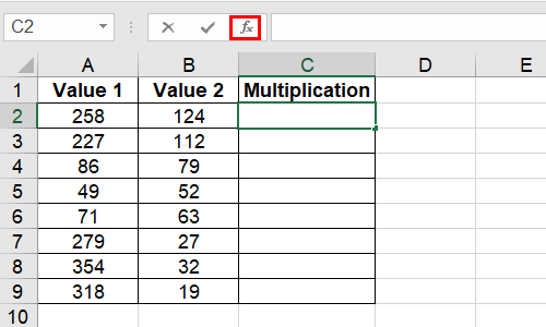 How to Multiply Numbers in Microsoft Excel Quickly