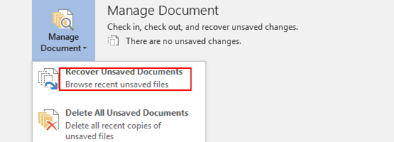 How to Recover an Unsaved File in Microsoft Word, Excel or PowerPoint