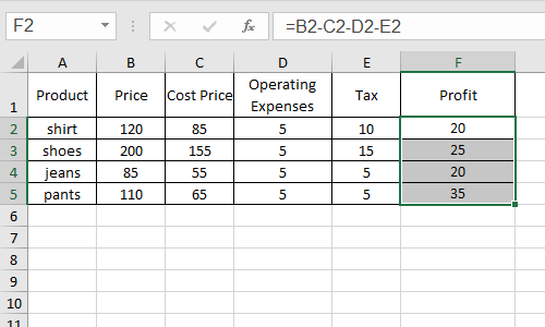 How to Insert Data Bars or Directional Icons to Excel Cells