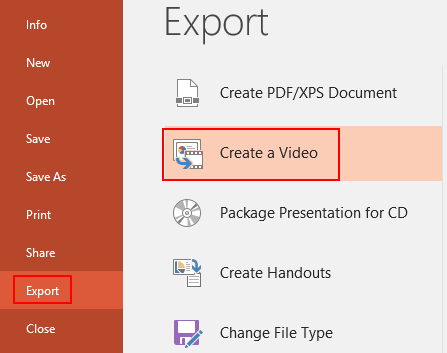 How to Convert PowerPoint to Video or Save PPT as Video