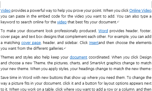 How to Remove All the Hyperlinks in Microsoft Word