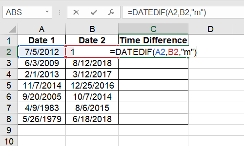 How to Calculate the Time Difference Quickly Using Excel Functions