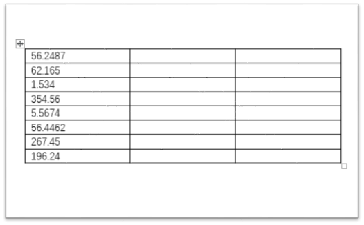 How to Align Decimal Point in Word Table Cells