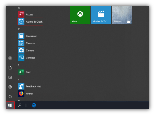How to Enable and Use the Alarm Clock in Windows 10