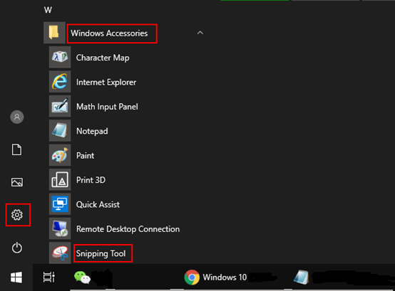 How to Create Snipping Tool Shortcut on Windows 10