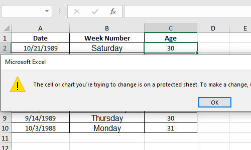 How to Hide and Protect the Formulas You Used in Excel