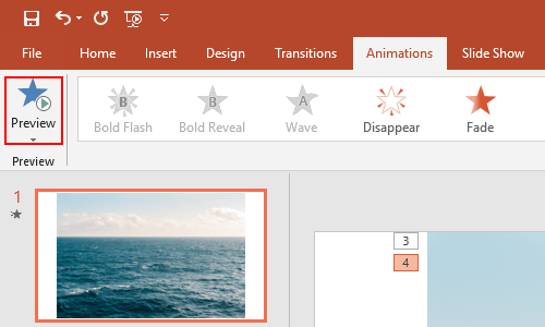 How to Play Multiple Images in the Same PowerPoint Slide in Order