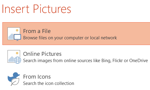 How to Fill a Shape with Specific Image in PowerPoint Slide