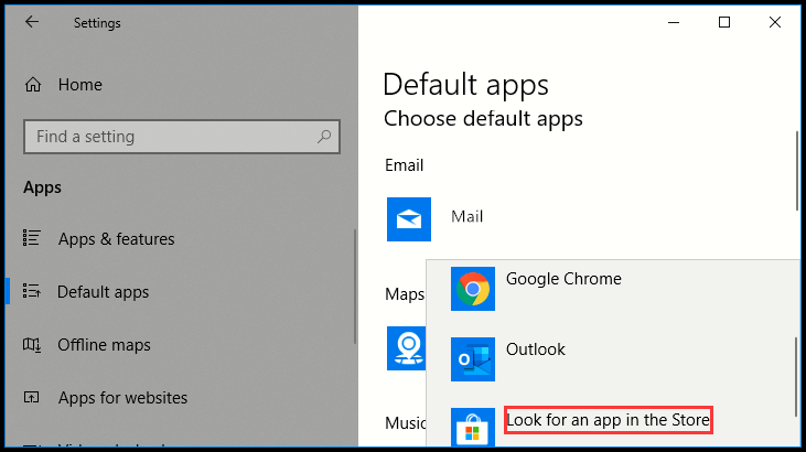 How to Change Default Email App in Windows 10