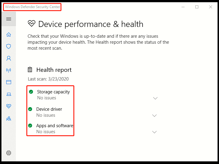 How to Check Health Report of Your Windows 10 PC