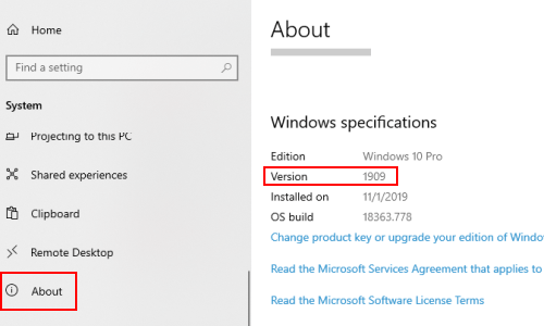 2 Methods to Check the Current Version of Windows 10