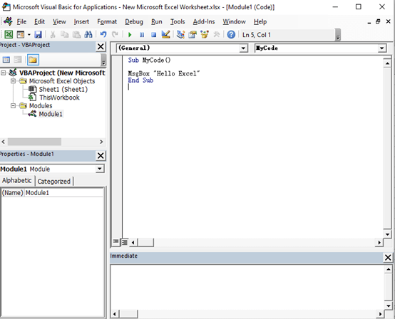 Write the First VBA Macro by Yourself