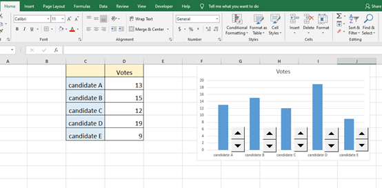 How to Create a Voting System in Microsoft Excel?