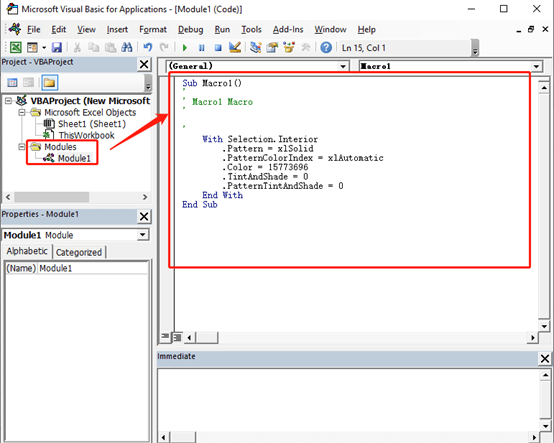 How to Record Macro and View Macro Code in Excel