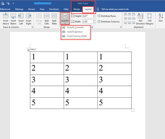 Tricks For Adjusting Tables In Microsoft Word
