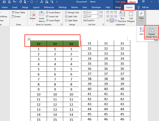 How to Print a Long And Narrow Excel Table