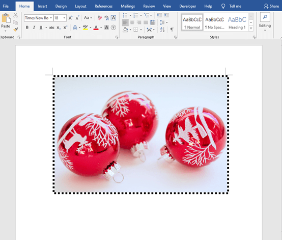 The Skill Of Adding Picture Border In Microsoft Word