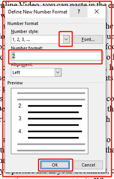 Some Common Problems In Automatic Numbering In Microsoft Word