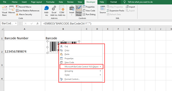How to Create A Barcode in Microsoft Excel?