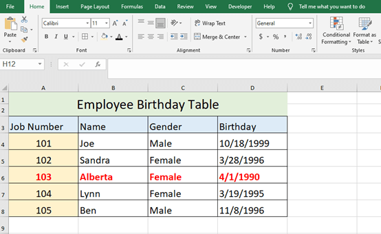 Useful Excel Tricks for Conditional Formatting