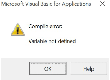 How to Declare Variables and Assign Them Value in VBA