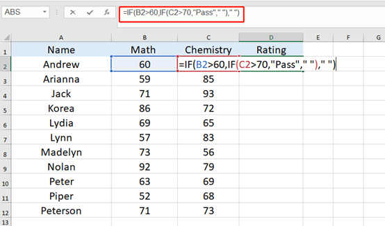 How To Use Nested IF Functions In Excel-Simple Tutorial