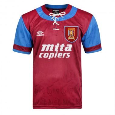 Aston villa retro shirt 1992