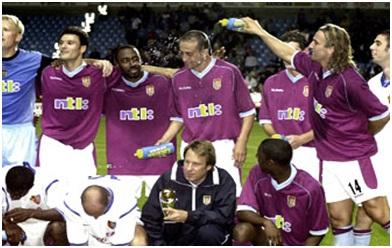 Aston Villa Intertoto Cup winners