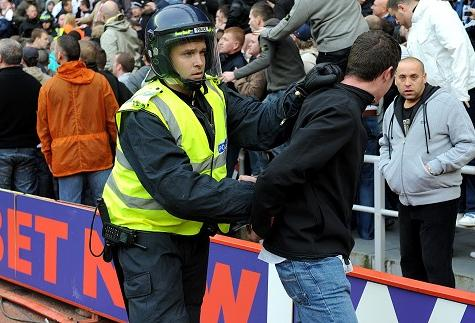 football supporter rights arrest