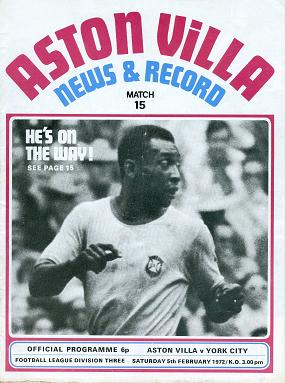 pele interview aston villa