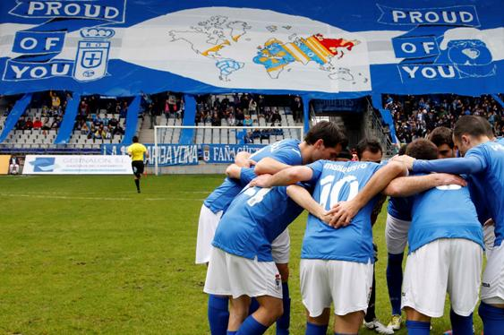 real oviedo banner proud