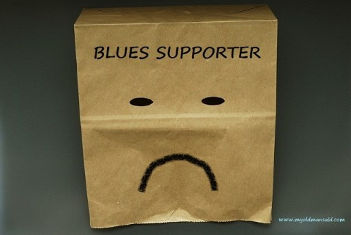 bag head blues supporter