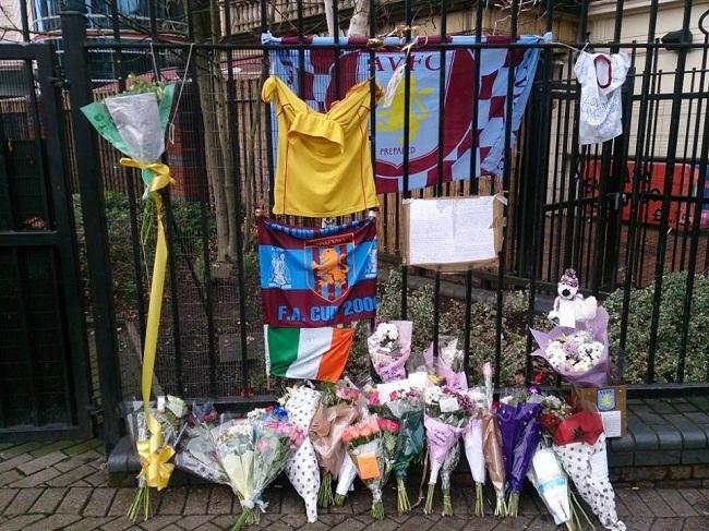 Jody O'Reilly aston villa killed