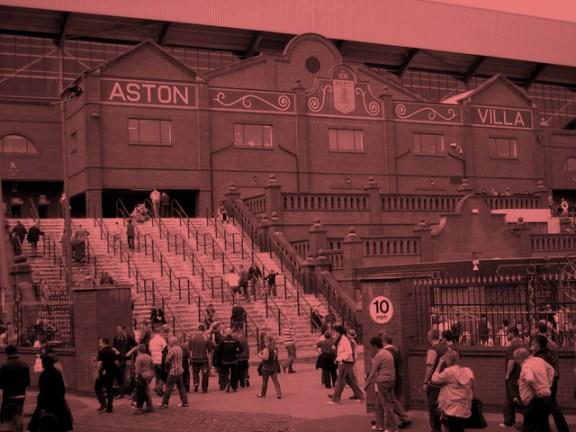 villa park rose tinted