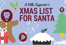 Aston Villa Christmas List