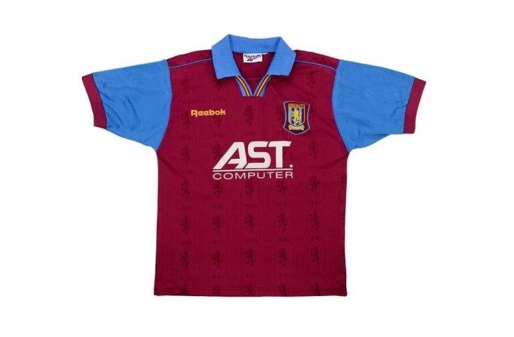 Aston Villa 1996 Home Shirt