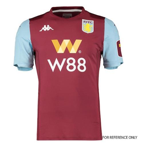 Aston Villa new kit price