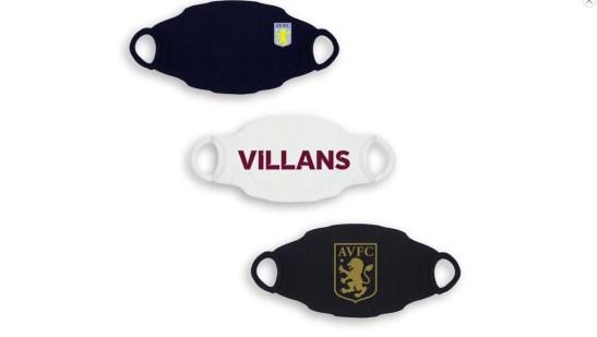 Aston Villa Face Mask