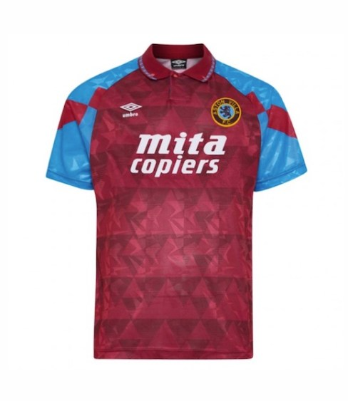 Aston Villa Umbro shirt 1990