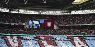 Aston Villa wembley mosaic FA Cup semi-final