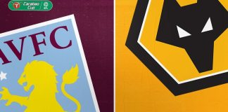 Aston Villa vs Wolves Carabao Cup