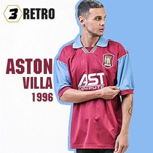 Aston Villa 1996 shirt