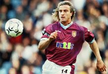 David Ginola Aston Villa